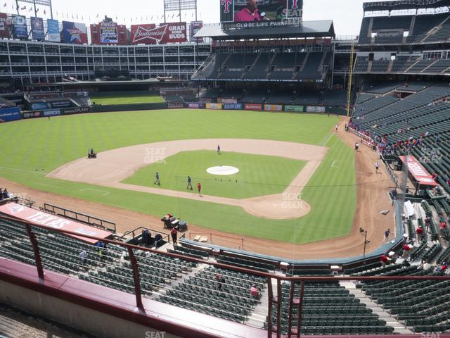 Globe Life Park Section 223 view