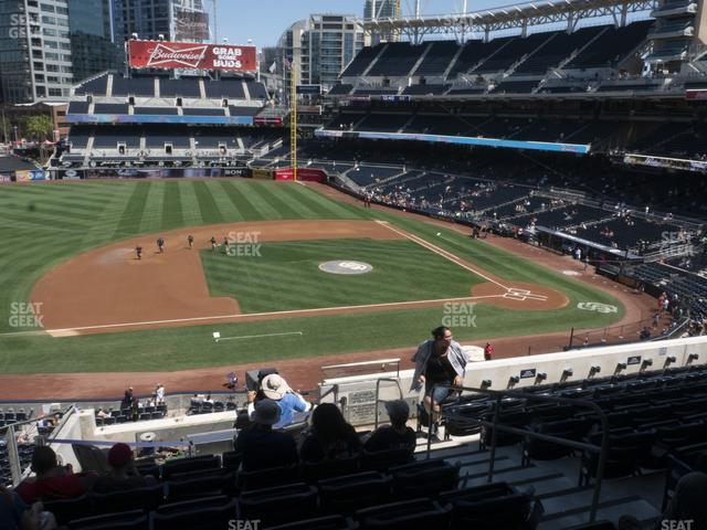 Petco Park Section 210 view