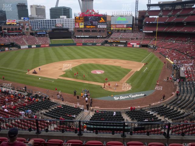 Busch Stadium Home Redbird Club 252 view