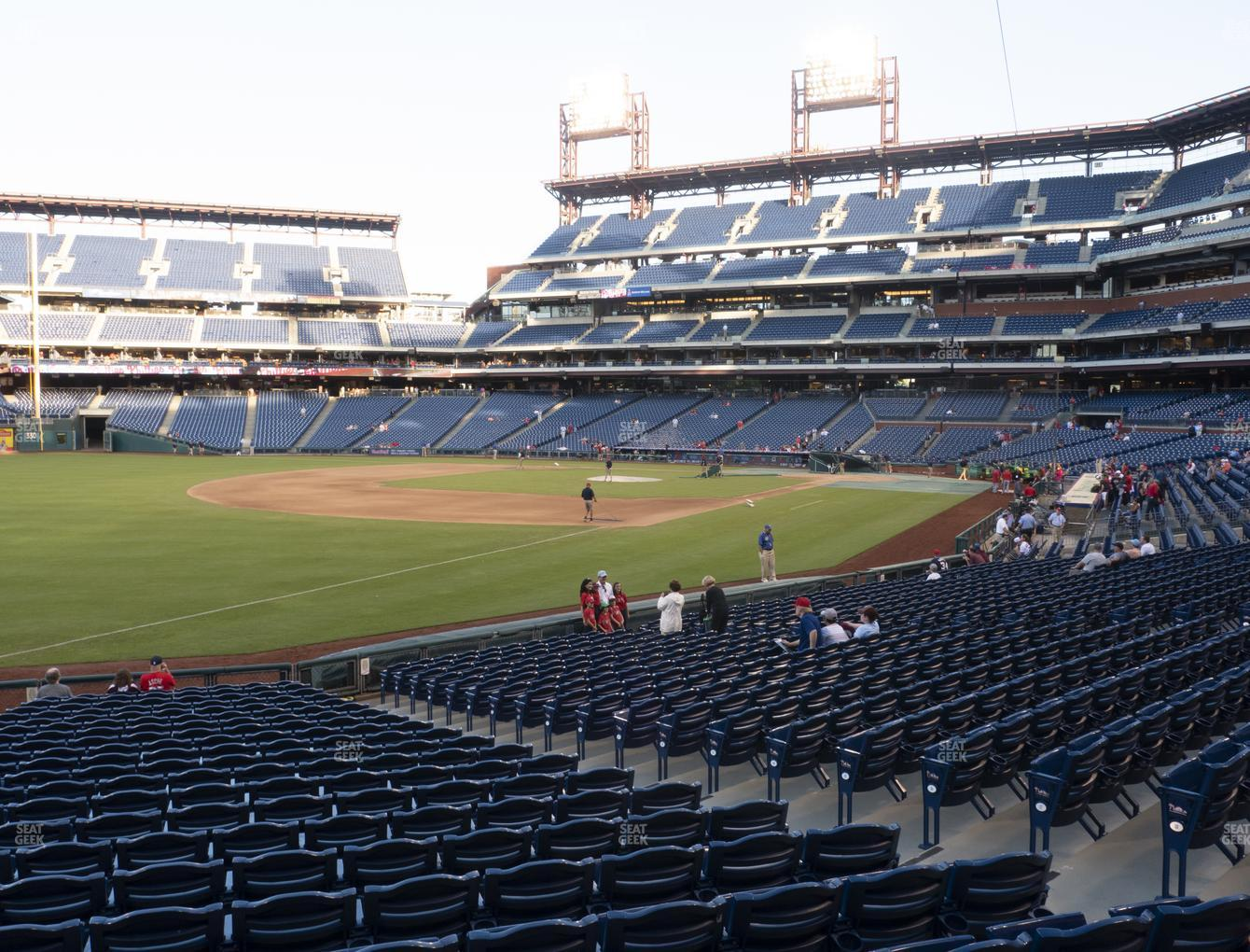 Philadelphia Phillies at Citizens Bank Park Section 137 View