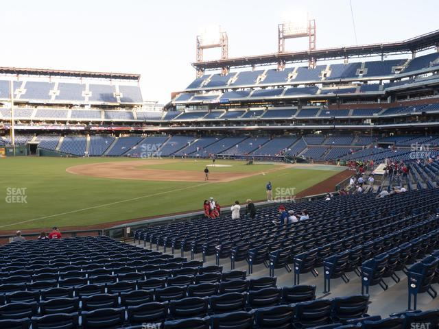 Citizens Bank Park Section 137 view