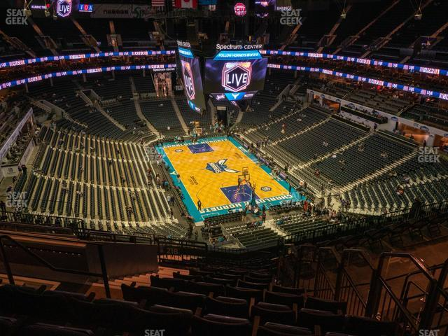Spectrum Center Section 219 view