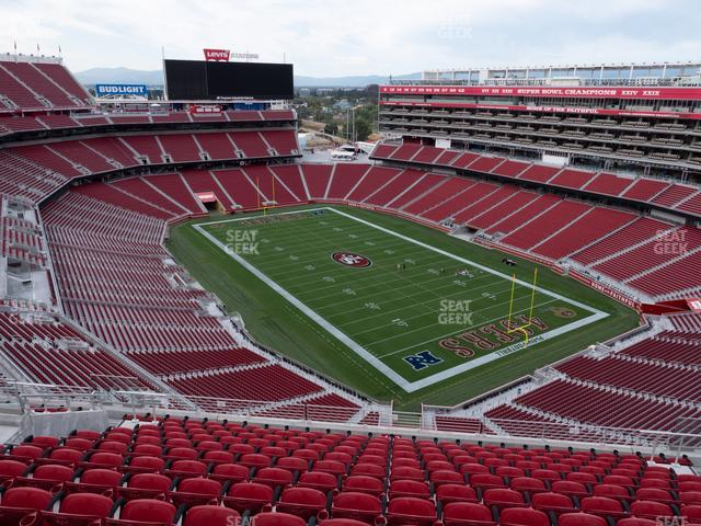 Levi's Stadium Section 403 view