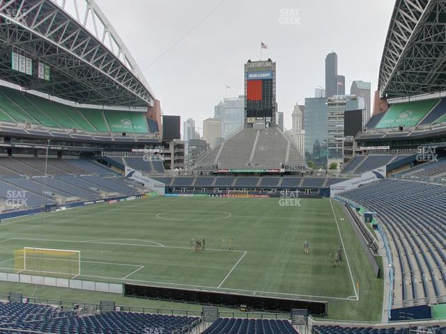 CenturyLink Field Section 119 view