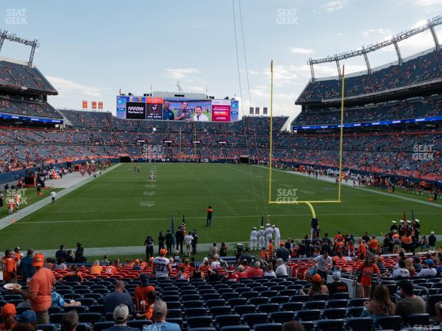Empower Field at Mile High Section 115 view