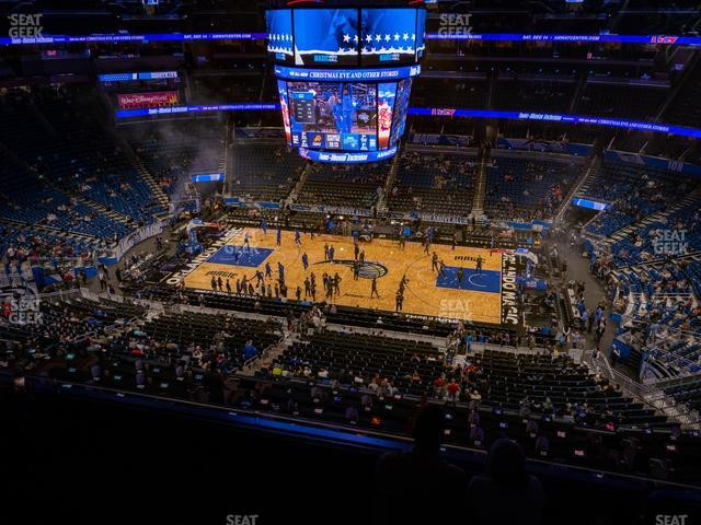 Amway Center Section 224 view