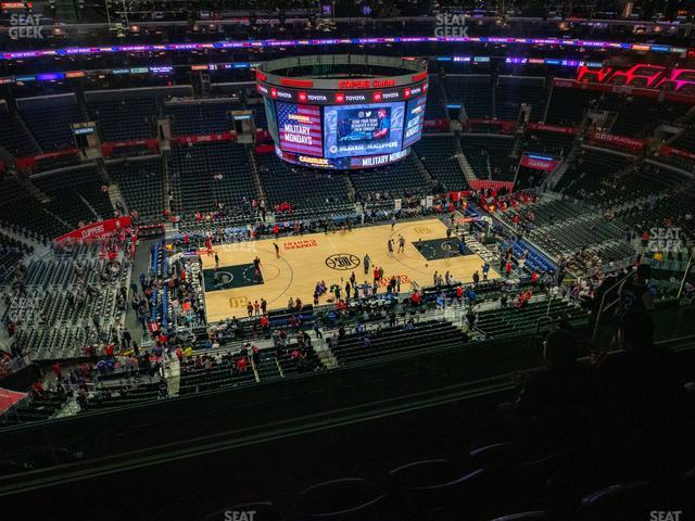 Staples Center Section 302 view