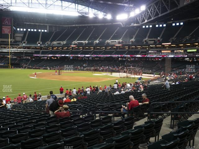 Chase Field Section 133 view