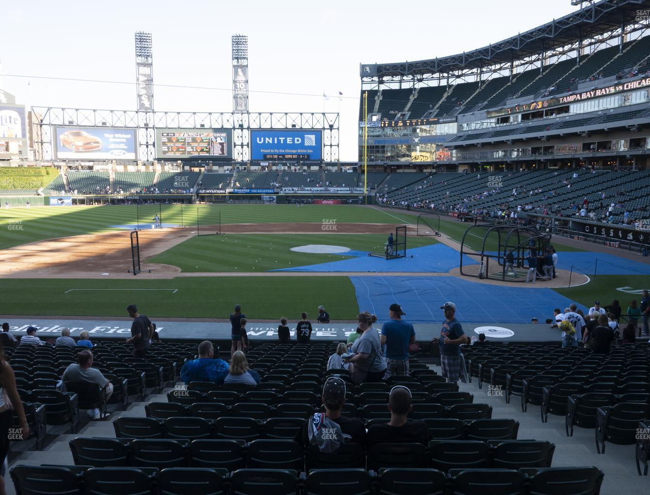 Chicago White Sox at Guaranteed Rate Field Section 138 View
