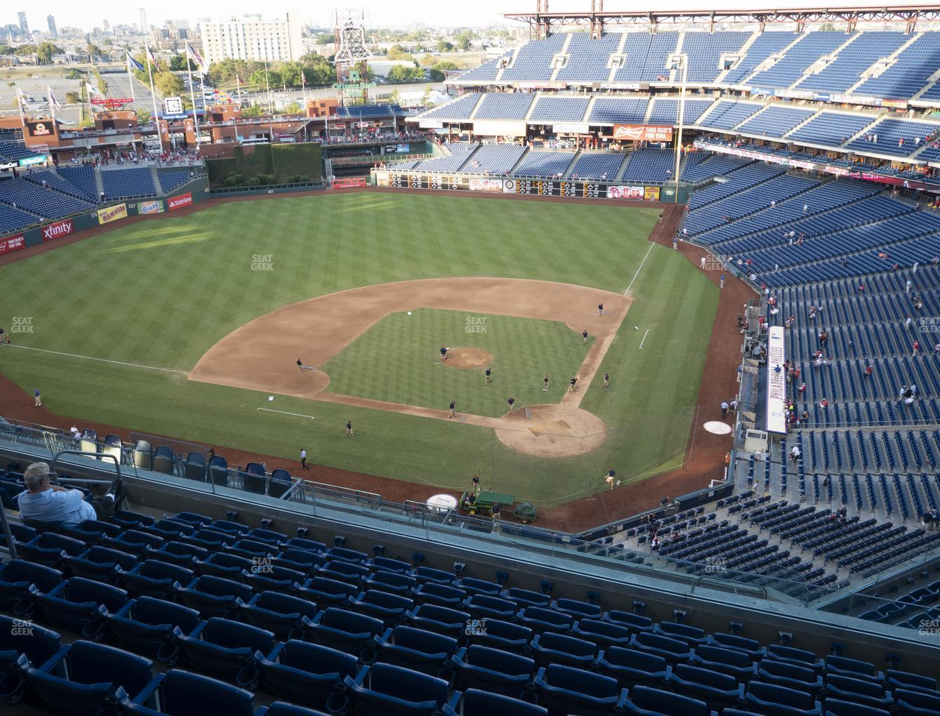 Philadelphia Phillies at Citizens Bank Park Section 423 View