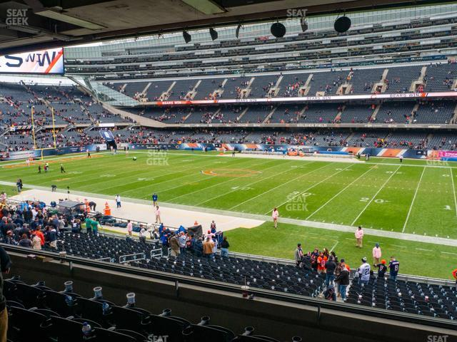 Soldier Field Section 233 view
