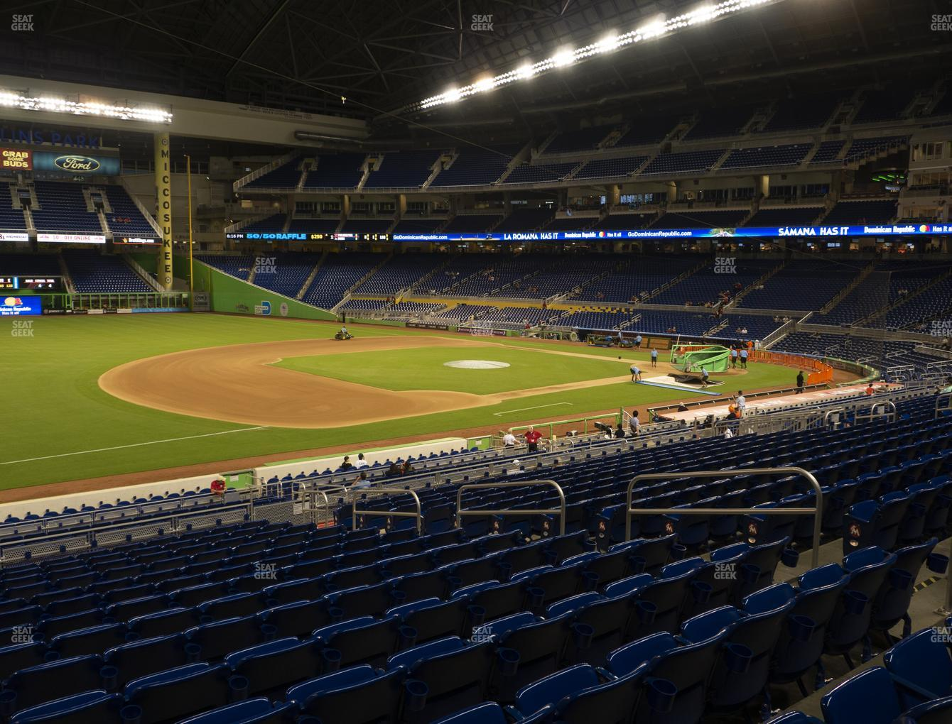 Miami Marlins at Marlins Park Section 23 View