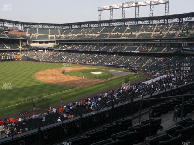 Coors Field Section 245 view
