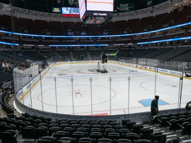 Honda Center Section 202 view
