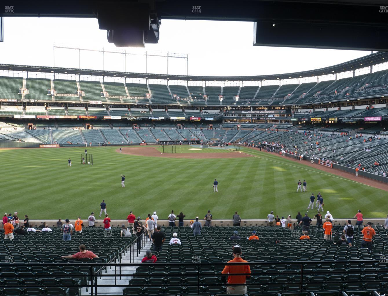 Concert at Oriole Park at Camden Yards Section 85 View