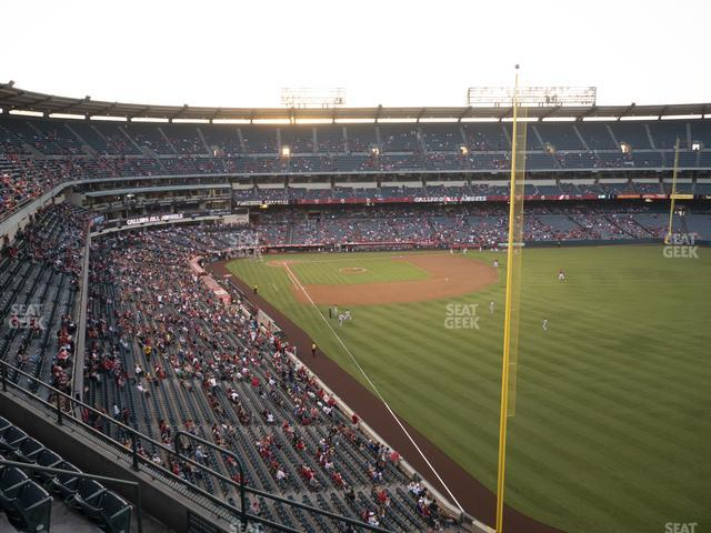 Angel Stadium of Anaheim Section 434 view