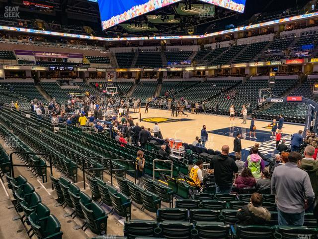 Bankers Life Fieldhouse Section 3 view