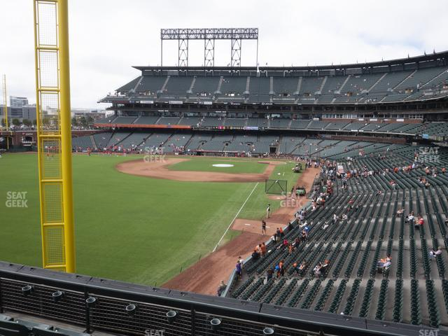 Oracle Park Section 234 view