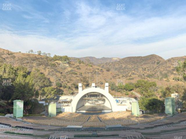 Hollywood Bowl Section W 2 view