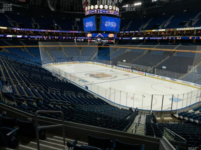KeyBank Center Section 213 view