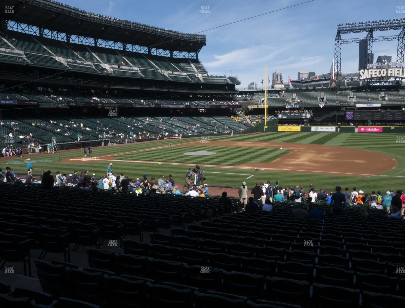 Seattle Mariners at T-Mobile Park Section 120 View