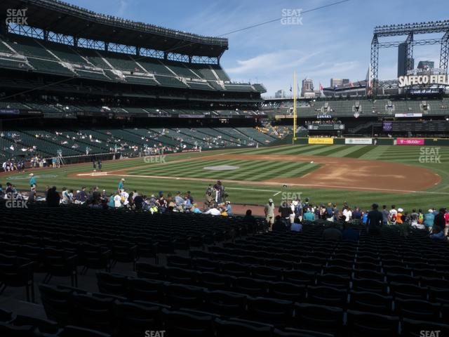 T-Mobile Park Section 120 view