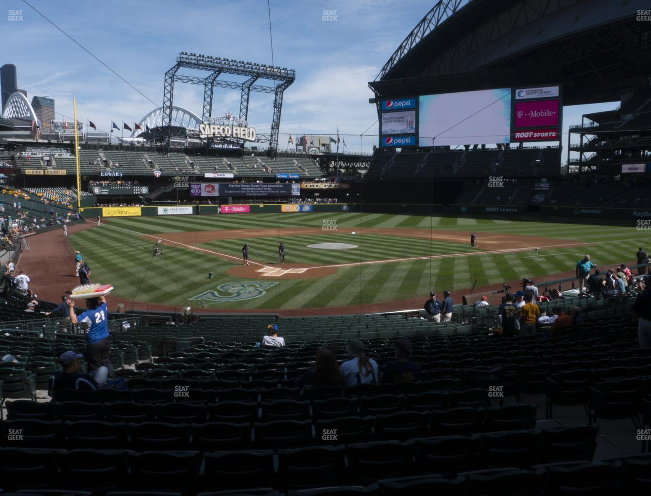 Seattle Mariners at T-Mobile Park Section 127 View