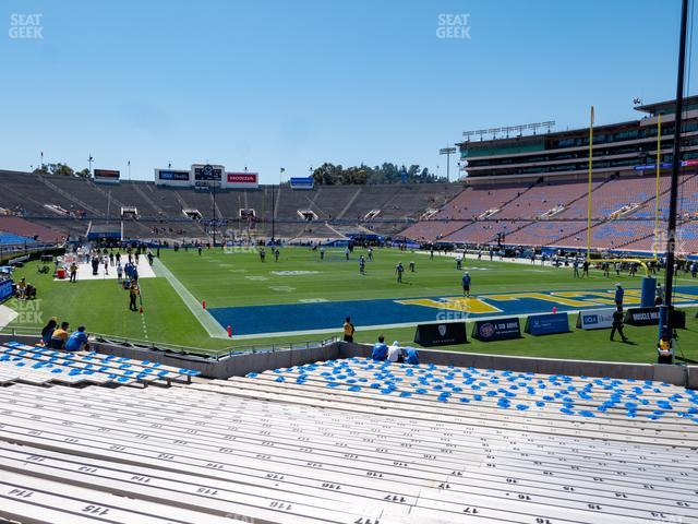 The Rose Bowl Lower 9 H view