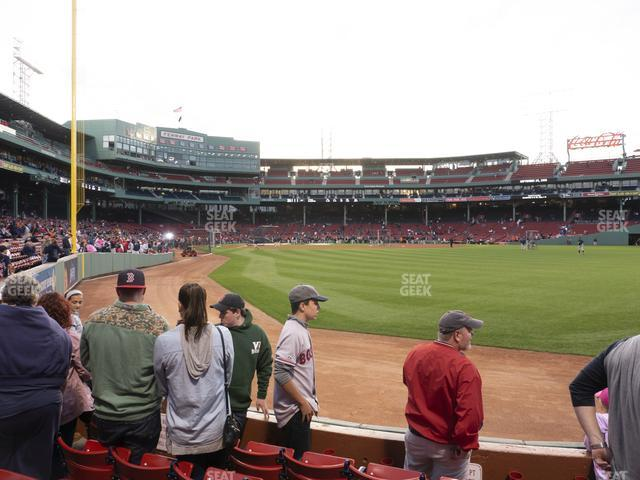 Fenway Park Right Field Box 2 view