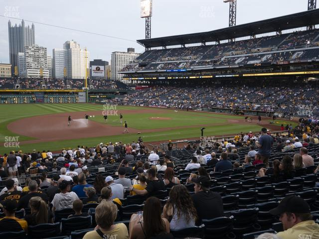 PNC Park Section 125 view