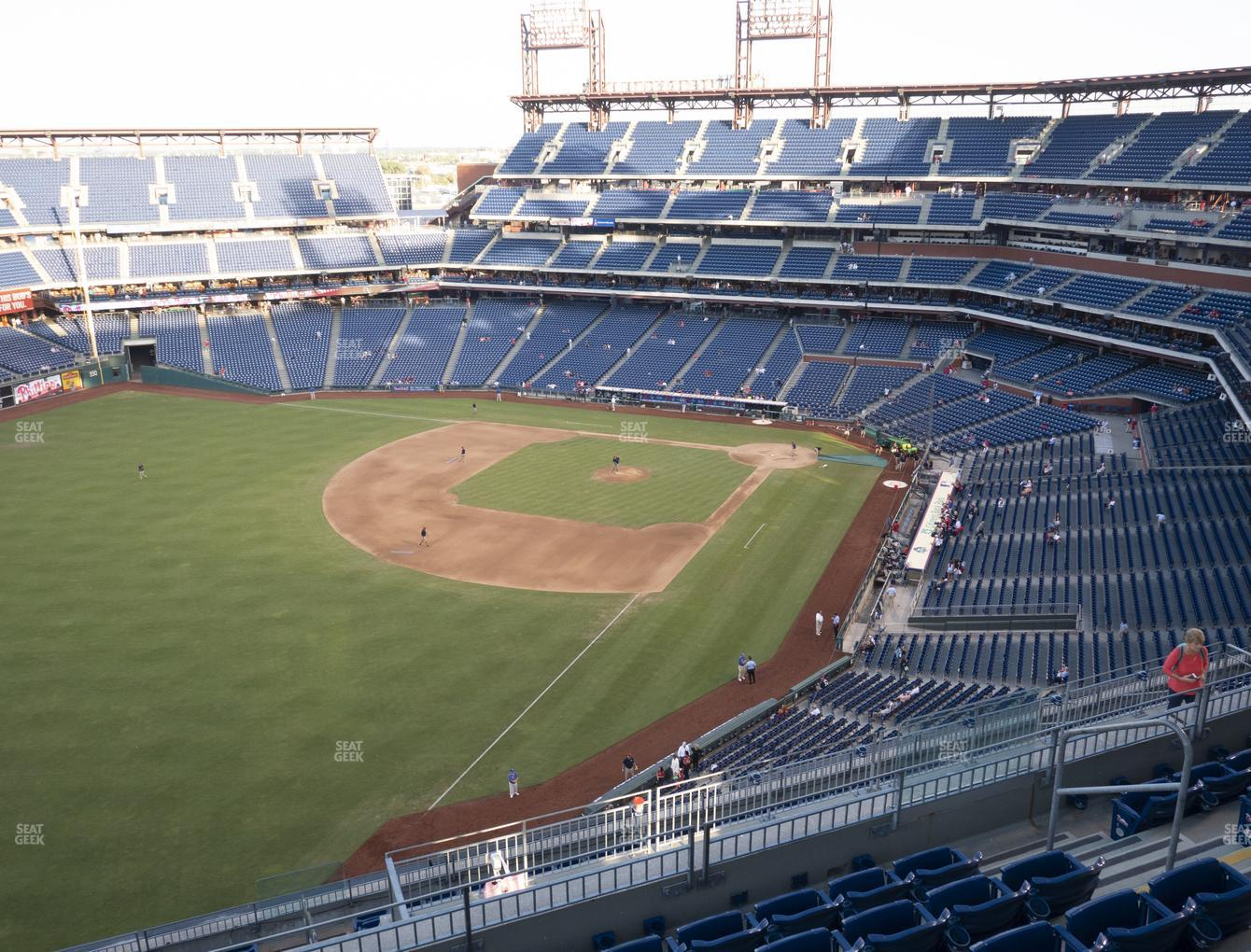 Philadelphia Phillies at Citizens Bank Park Section 434 View