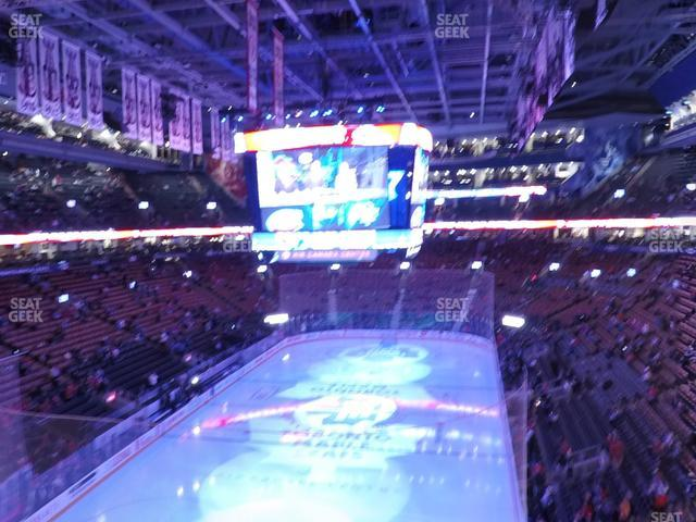 Scotiabank Arena Section 314 view