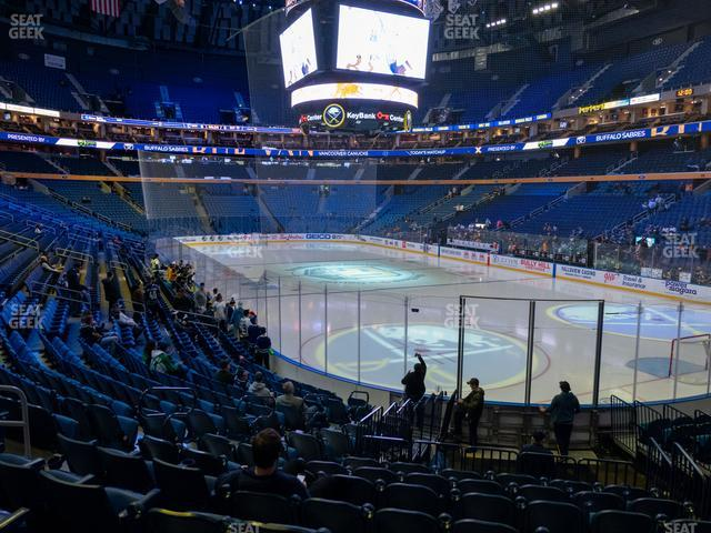 KeyBank Center Section 113 view