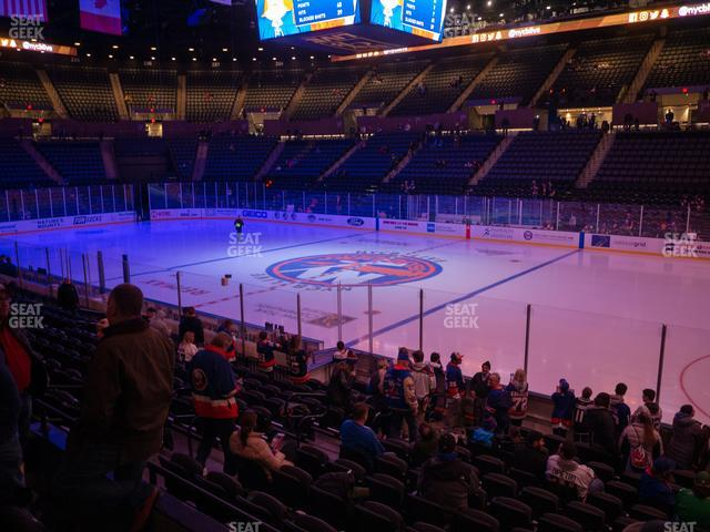 Nassau Veterans Memorial Coliseum Section 115 view