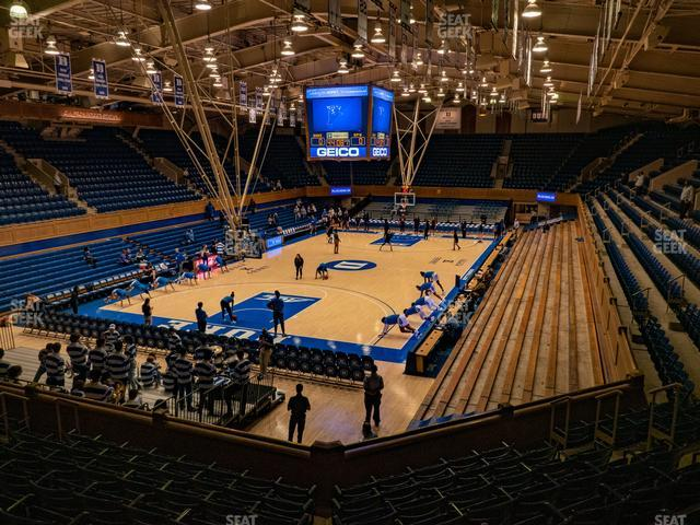 Cameron Indoor Stadium Section 11 view