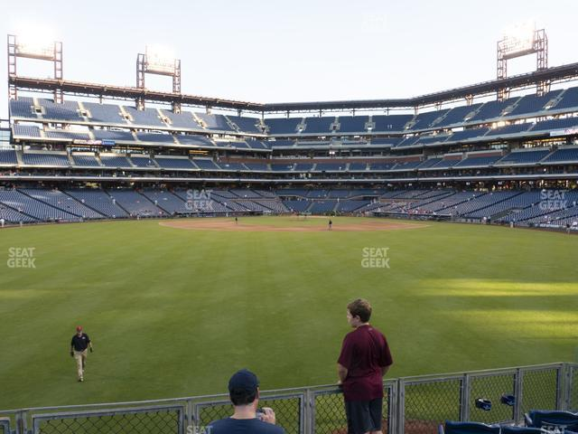 Citizens Bank Park Section 148 view