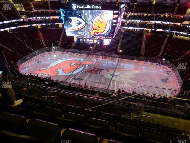 Prudential Center Section 213 view