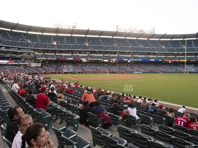 Angel Stadium of Anaheim Section 130 view