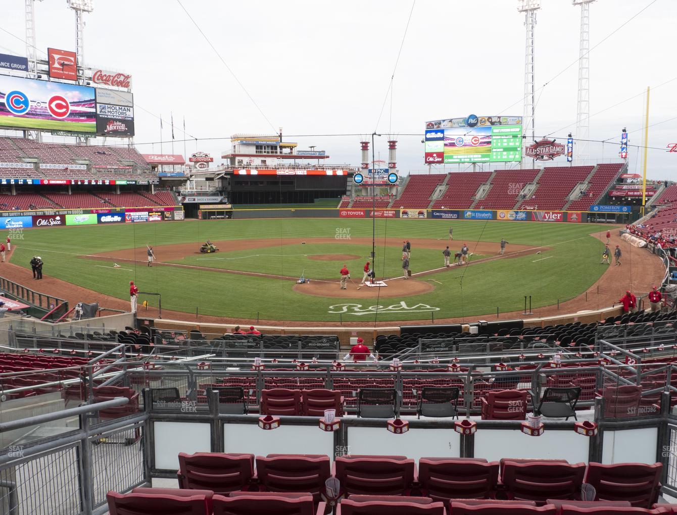 Great American Ball Park Section 123 Seat Views Seatgeek