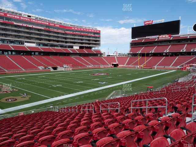 Levi's Stadium Section 122 view