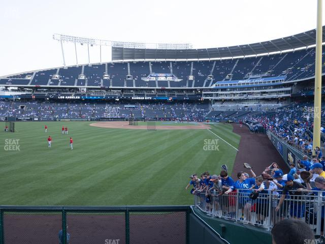 Kauffman Stadium Section 106 view