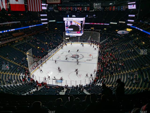 Nationwide Arena Section 209 view