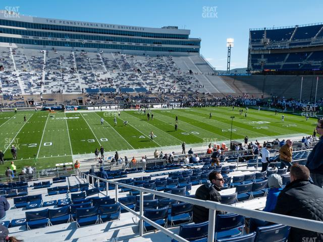 Beaver Stadium Section West G view
