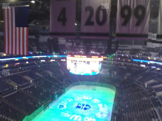 Staples Center Section 325 view