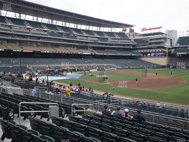 Target Field Section 105 view