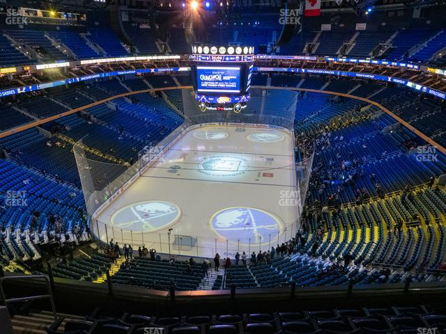 KeyBank Center Section 312 view