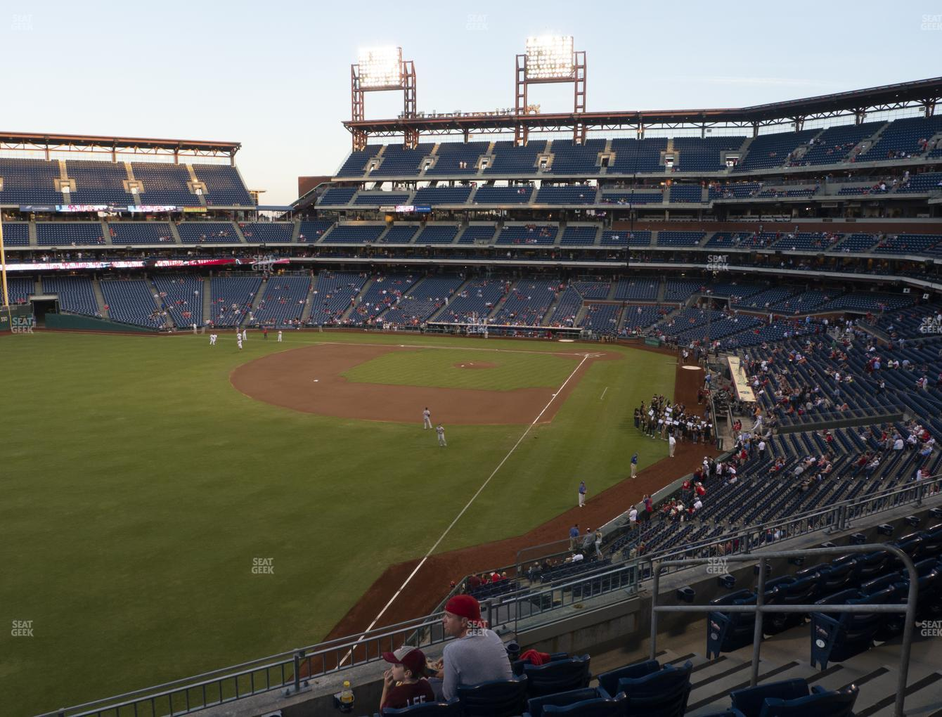 Philadelphia Phillies at Citizens Bank Park Section 237 View