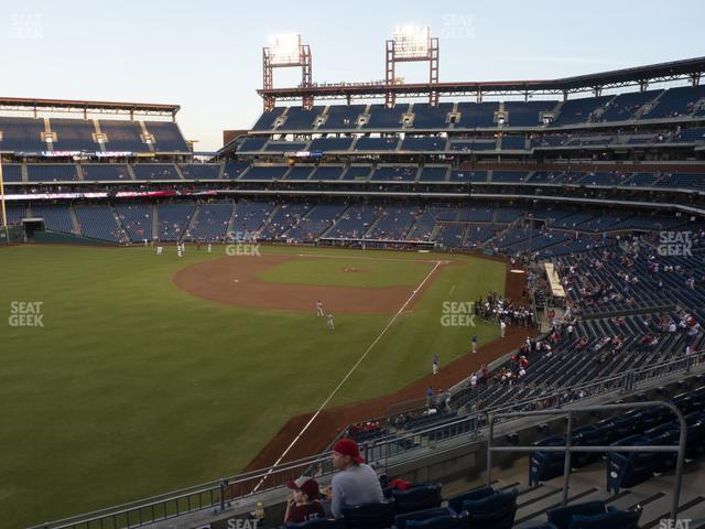 Citizens Bank Park Section 237 view