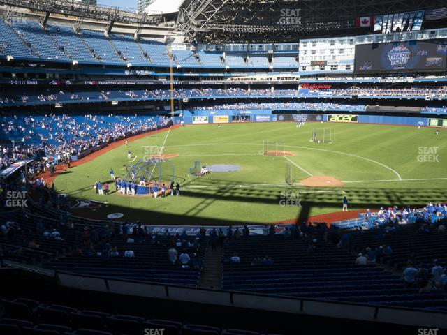 Rogers Centre Section 220 R view