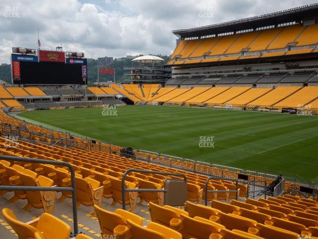 Heinz Field Section 117 view